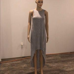 Religion London Blue grey high low dress 👗 xsmall
